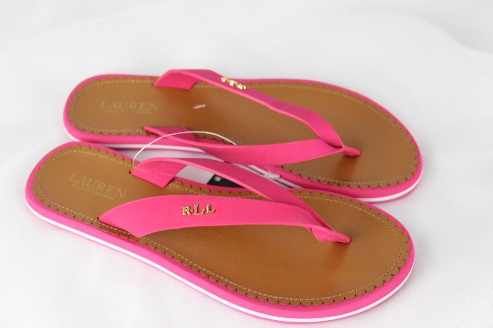 f22a027bb18e Lauren Ralph Lauren Ryanne pink flip flops and 50 similar items. 57
