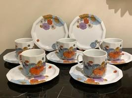 Rosenthal Studio Linie Polygon Patras Tapio Wirkkala Cups and Saucers - $199.00