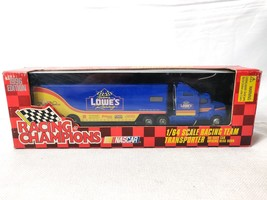 Racing Champions #11 Brett Bodine NASCAR Lowe's 1:64 Team Transport 1996 - $22.50