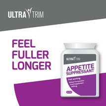 Ultra Trim Appetite Suppressant Pill – Lose Body Fat & Weight Fast Tablets! - $33.23