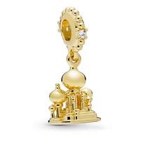 CHARM plata 925 película Disney ALADDIN AGRABAH Castillo pulsera Pan dora - $18.50