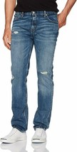 Levi's Strauss 511 Men's Destroyed Distressed Slim Fit Stretch Jeans 511-2387 image 1