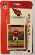 2006 Topps Arizona Cardinals Team Set NIB Matt Leinart Warner Football C... - $1.89