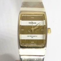 Vintage Hamlin Ladies Winder Watch Bracelet Band - $24.74