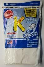 Genuine Hoover Type K Allergen Micro Filtration Bags 3 Pack - $9.89