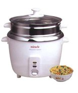 Stainless Steel Rice Cooker Model ME81 (Formerly ME8) - by Miracle Exclu... - $72.95