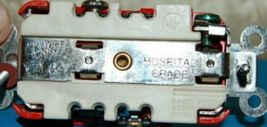 Hubbell HBL8300R Red Receptacle Straight Blade 20 Amp Duplex Hospital Grade image 5