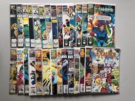 Lot of 28 Excalibur (1988 1st Series) #1-85 VF Very Fine - $74.25