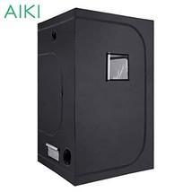 "AIKI 48""x48""x80"" Reflective Mylar Hydroponic Grow Tent with Observation ... - $147.01"