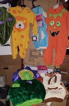 9 New Infant/toddler s Baby Halloween Mini Monster Costumes Age 6-36 Months New - $98.99