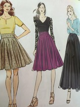 Vogue Sewing Pattern Very Easy Vogue 8980 Misses Skirt Size 6-14 New - $16.77