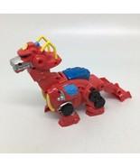 Playskool Transformers Rescue Dino Bot Heatwave Toy - Lights Up & Talks - $22.43