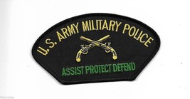 ARMY MILITARY POLICE ASSIST PROTECT DEFEND MP EMBROIDERED  PATCH - $15.33