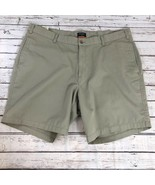 Dockers Stain Defender Flat Front Khaki Shorts - Size 40 - $11.63