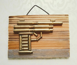 Elegant Brass Bullet 1911 Wall Art Gun - $32.90
