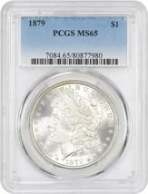 1879 $1 PCGS MS65 - Morgan Silver Dollar - $552.90