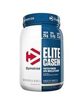 Dymatize Nutrition Elite Casein, Smooth Vanilla, 2 Pound - $38.73