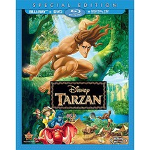 Disney's Tarzan (Bluray + DVD, No Digital)  - $14.95