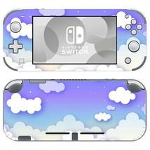 Cute Purple Cloudy Clouds Skins for Nintendo Switch Lite Decals Vinyl Sticker - $9.41