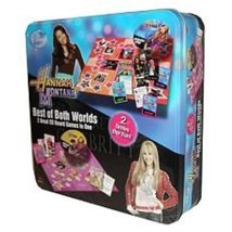 """""""Hannah Montana"""" Best of Both Worlds CD Board Game Tin - $24.49"""