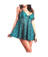 Women Sexy Lace Lingerie Glamour Underwear Babydoll G-String Low V Style... - $8.95