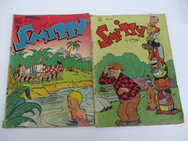 Smitty Golden Age Comic Book Lot 7 138 Vintage Humor Comedy Silly Dell 1947 - $20.23