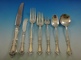 Foxhall by Watson Sterling Silver Flatware Service For 12 Set 87 Pieces No Mono - $5,200.00