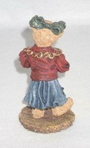 Boyd Bearstone Resin Bears Justina The Choir Singer Figurine #228624 Special Ed. image 2