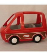 Little Tikes Toy Van Minivan Woody Station Wagon Vintage Not Full Sized - $20.99