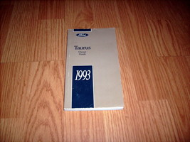 1993 Ford Taurus Owners Manual 00106 - $7.87