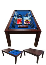 7FT POOL TABLE Model BLUE SKY Snooker Full Accessories BECOME A BEAUTIFU... - $1,499.00