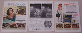 Lot Of 3 Magazine Ads Featuring General Electric - $8.90
