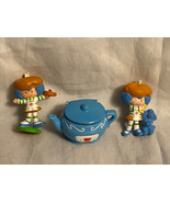Vintage Strawberry Shortcake Crepe Suzette Lot of 2 mini PVC Figures '83... - $29.99