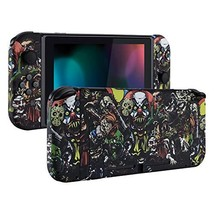 eXtremeRate Soft Touch Grip Back Plate for Nintendo Switch Console, NS J... - $46.90