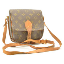 LOUIS VUITTON Monogram Cartouchiere PM Shoulder Bag M51254 LV Auth ar1933 - $240.00