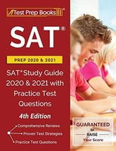 SAT Prep 2020 and 2021: SAT Study Guide 2020 and 2021 with Practice Test Questio