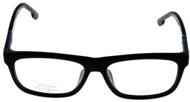 Diesel Men Black Blue Jeans Eyeglasses Frame Rectangular DL5107 001 - $88.11