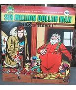 "1970s Retro Peter Pan Records Six Million Dollar Man Christmas ""Elves Re... - $18.00"