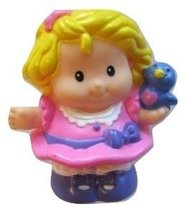 Fisher Price Little People Sarah Lynn, COLORS VARY, SPRING, EASTER, CAST... - $5.89