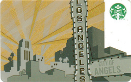 Starbucks 2014 City of Angels Los Angeles Collectible Gift Card New No V... - $3.99