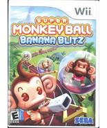 Super Monkey Ball: Banana Blitz (Nintendo Wii, 2006) - $12.99