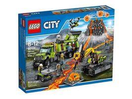 LEGO City 60124 Volcano Exploration Base 824 Pieces [NEW] Building Set - $139.99