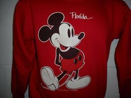 Vintage 80s Velva Sheen Florida Mickey Mouse Sweatshirt Fits Small - $29.99