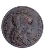 1905 Francia 5 Centesimi Moneta (XF) extra Sottile km #842 - ₹3,528.48 INR