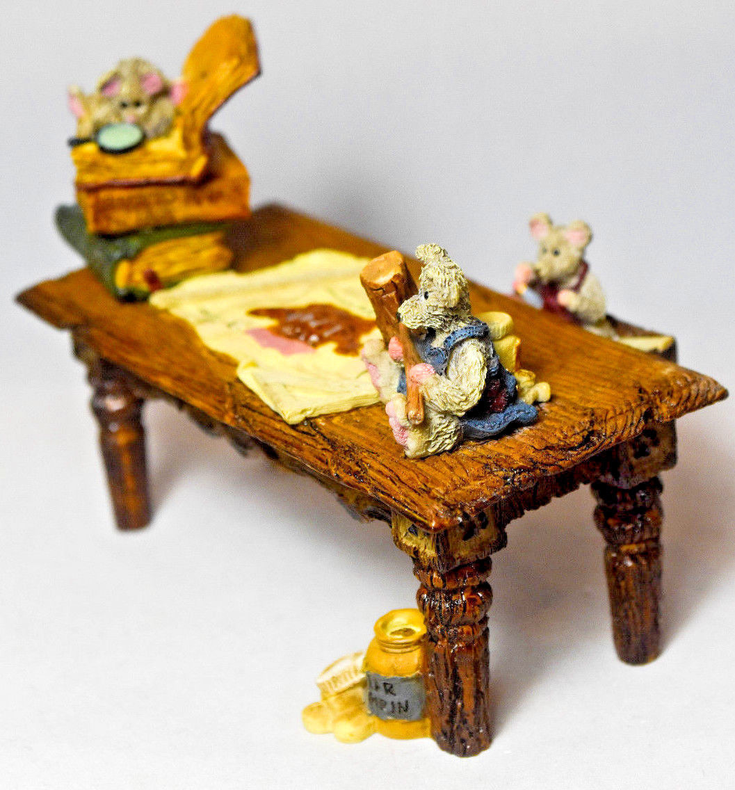 Boyds Bears: Noah's Genius At Work Table - Style 2429 image 3