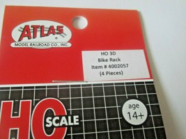 Atlas # 4002057 Bike Rack 4 Pieces 3D Printed Accessories HO Scale image 2