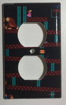 Donkey Kong Games Light Switch Duplex Outlet wall Cover Plate & more Home decor image 2