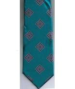 Oscar de la Renta Necktie 100% Silk Bright Blues Brand New Vintage - $13.42