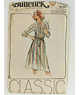 Vintage Butterick Sewing Pattern 5785 Womens Retro Dress 60s 70s 80s Fas... - $9.85