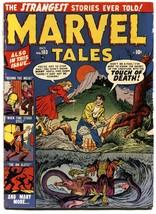 MARVEL TALES #103-ross andru art-pch horror atlas--1951 - $187.94